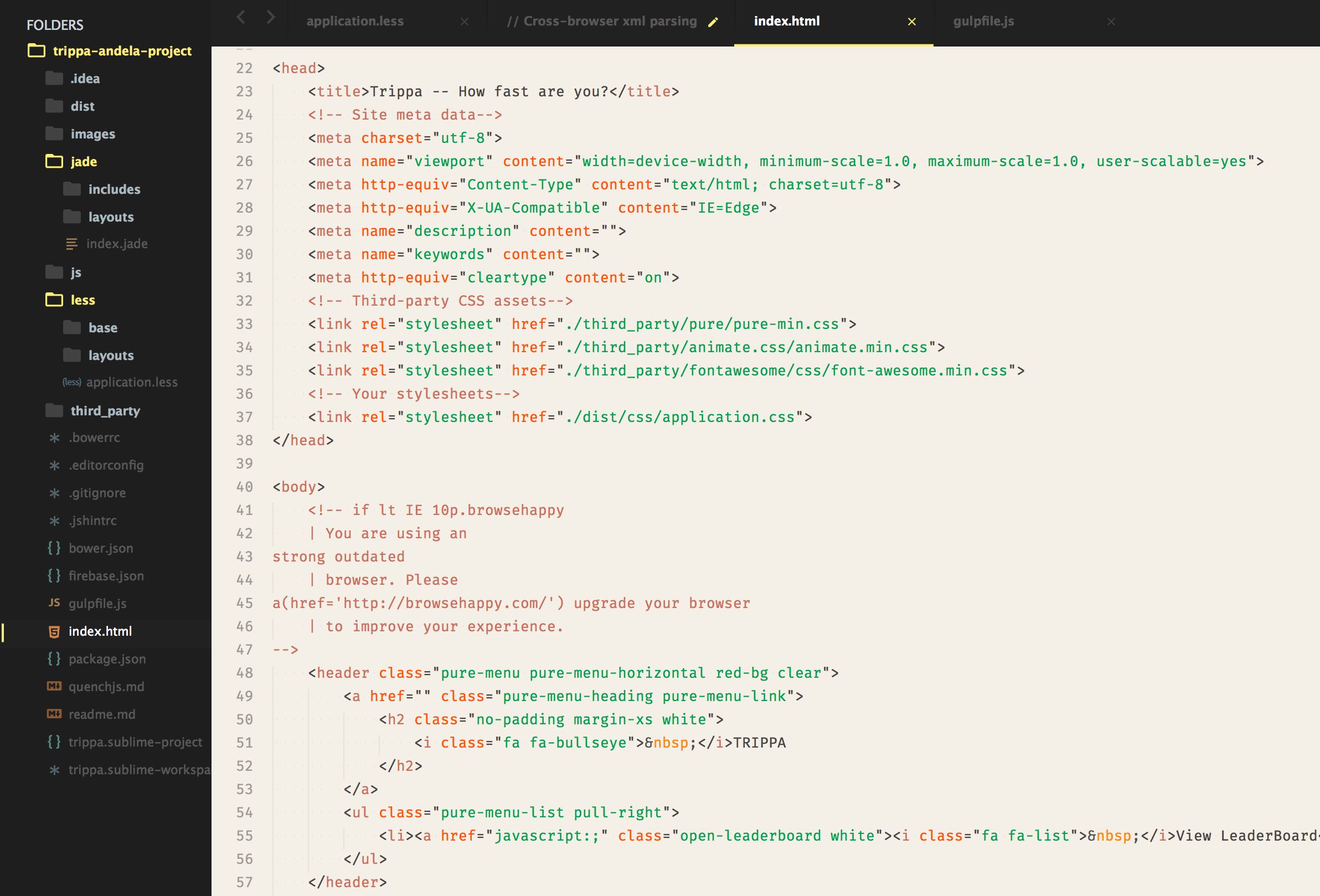 Sepiarize Theme HTML Demo Image