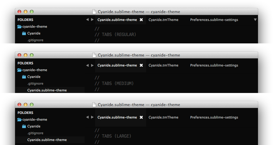 Theme - Cyanide - Packages - Package Control