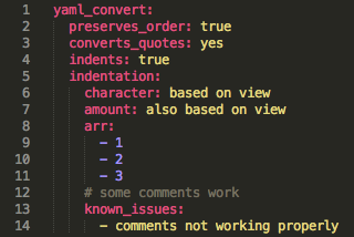 After YAML conversion