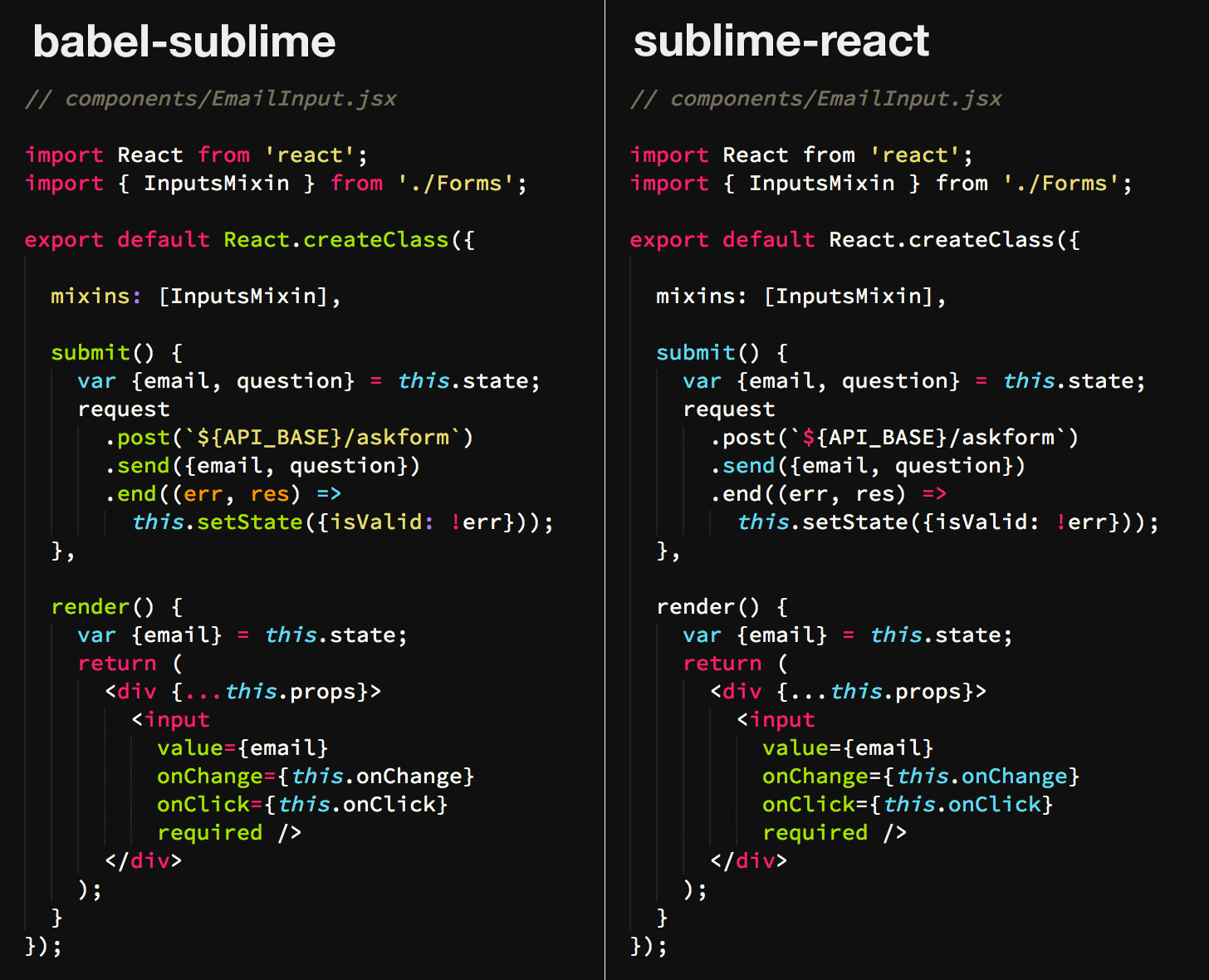 sublime text how to make your code look clean