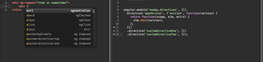 AngularJS - Packages - Package Control