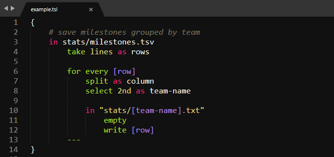Sublime Text Syntax Highlighting