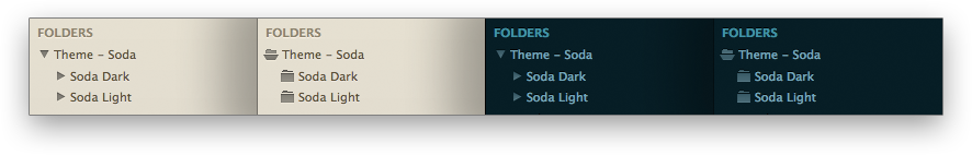 Sodarized Folder Icons