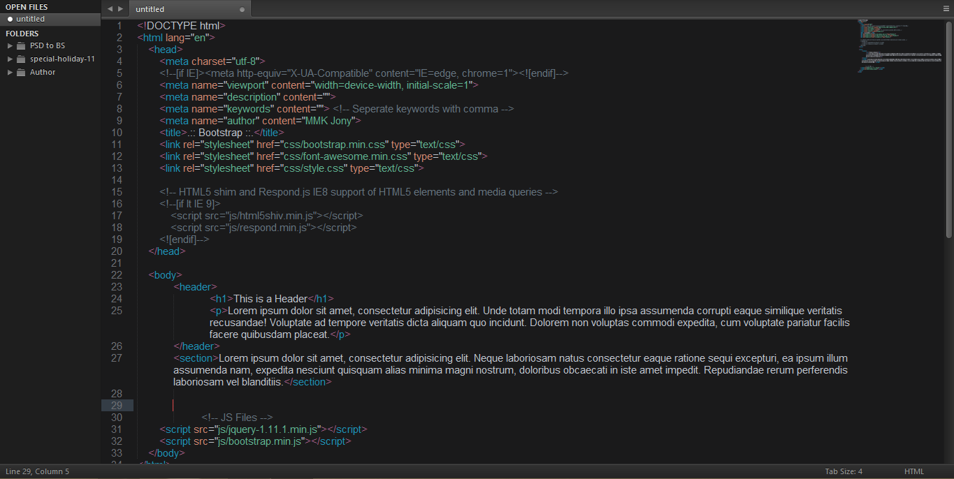 HTML Code Preview
