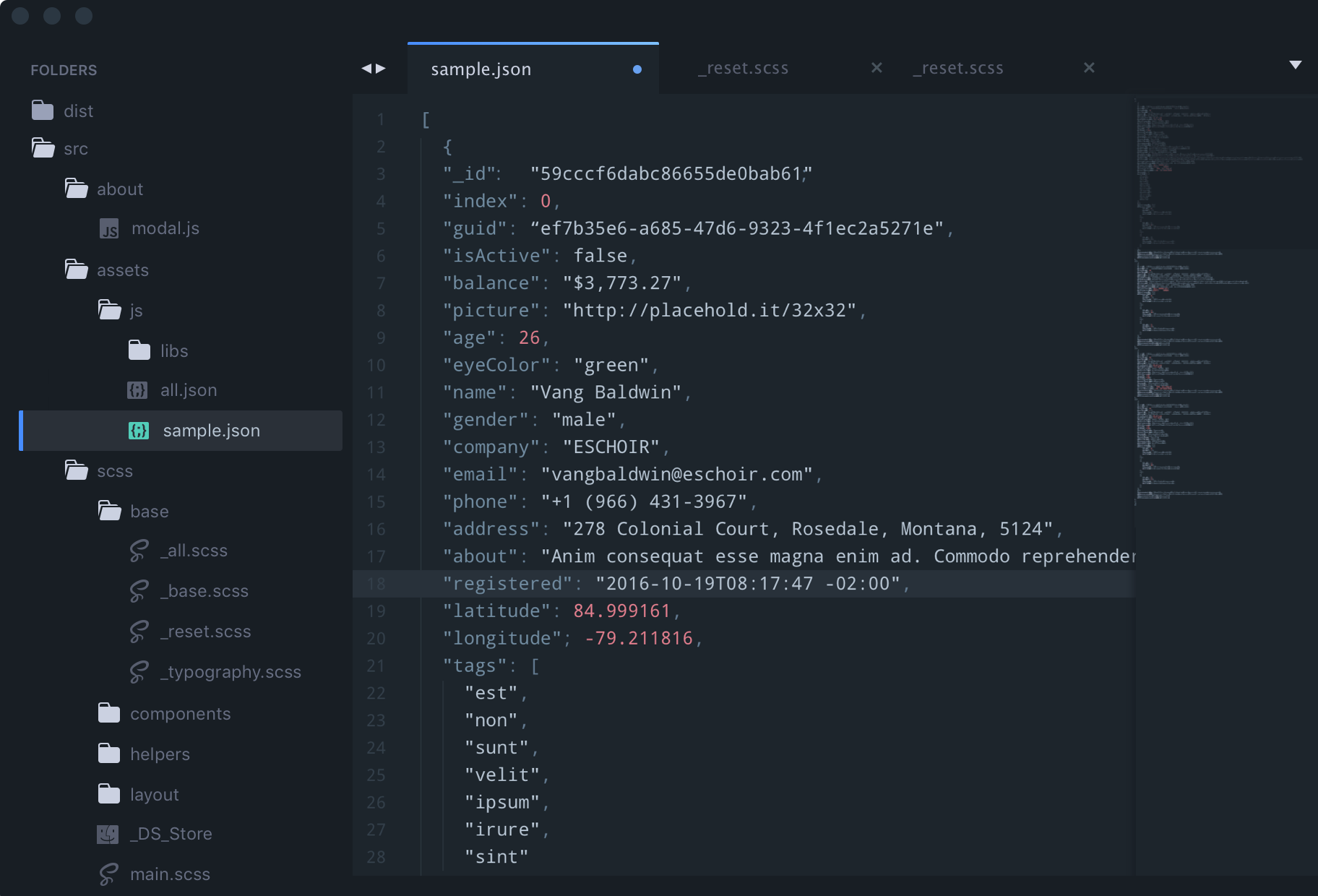 Image of City Lights for Sublime Text