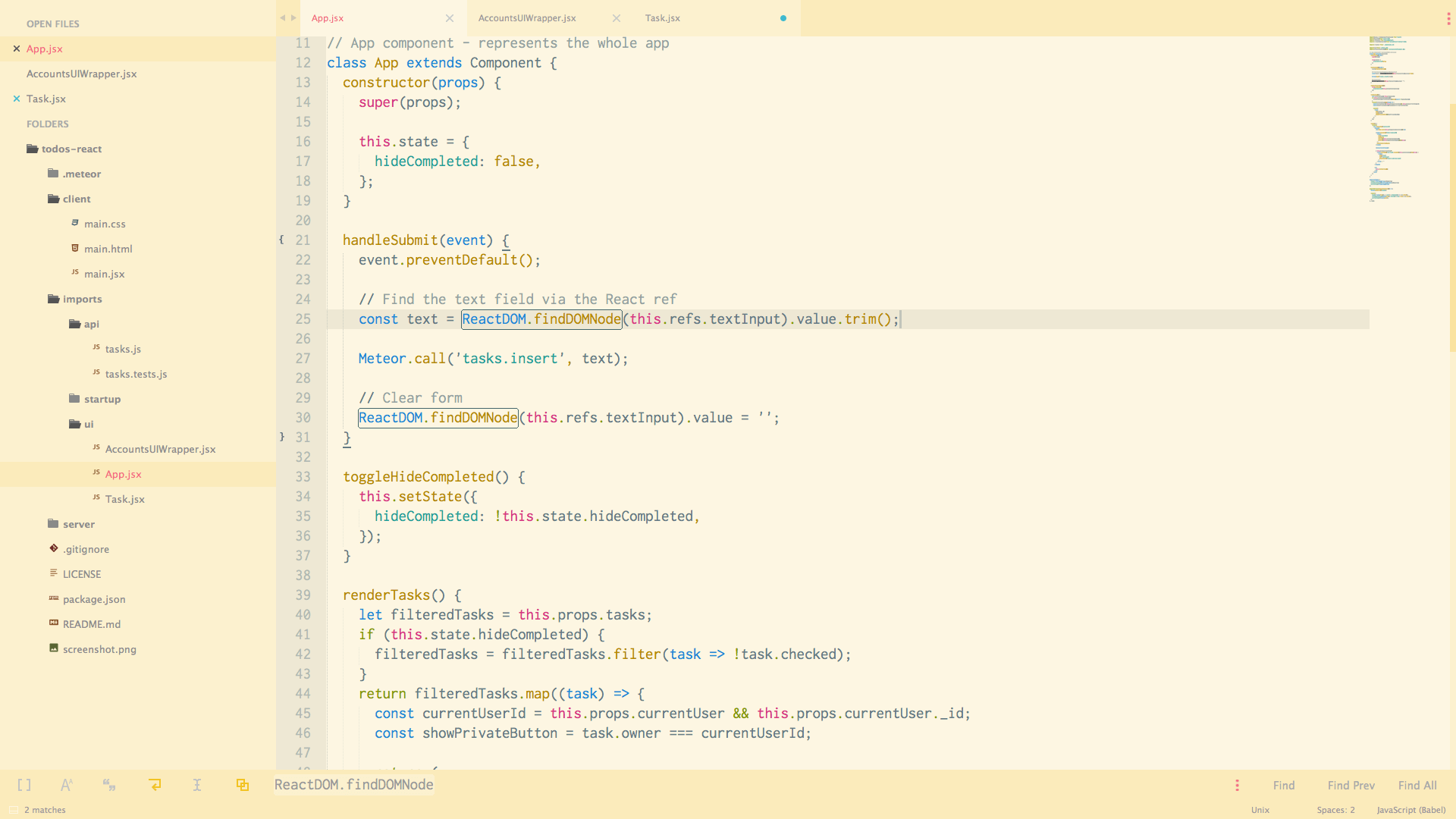 Agila theme light for sublime text