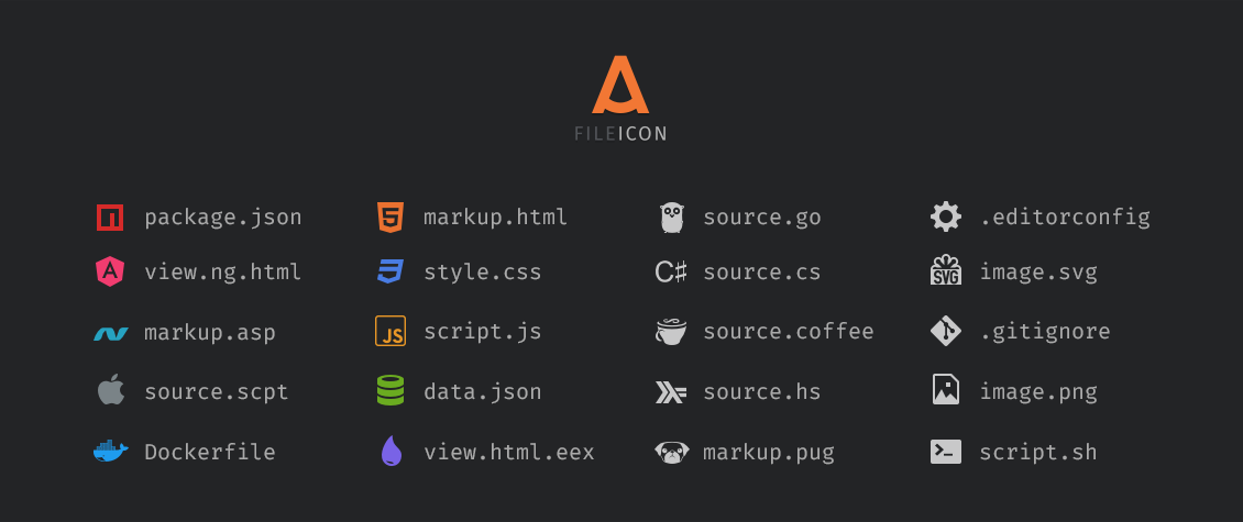 A File Icon Packages Package Control