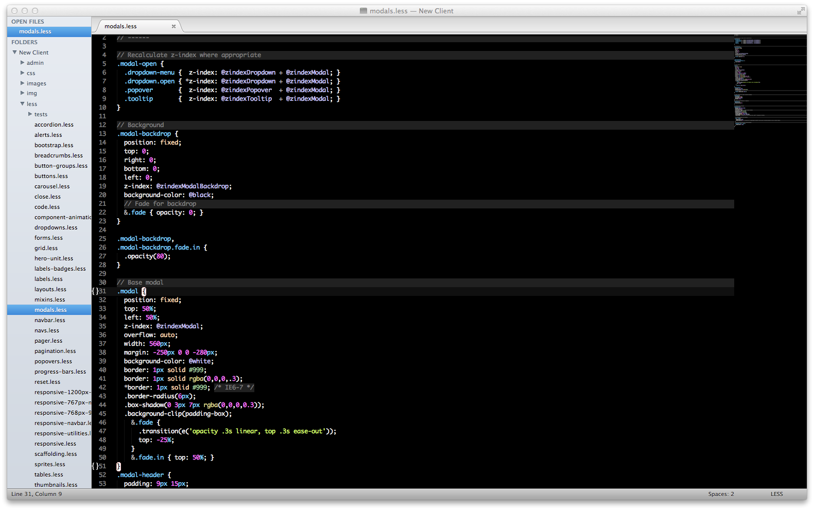 Dark Neon for Sublime Text