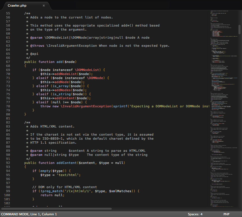 PHP - Lifted Dark - Color Scheme